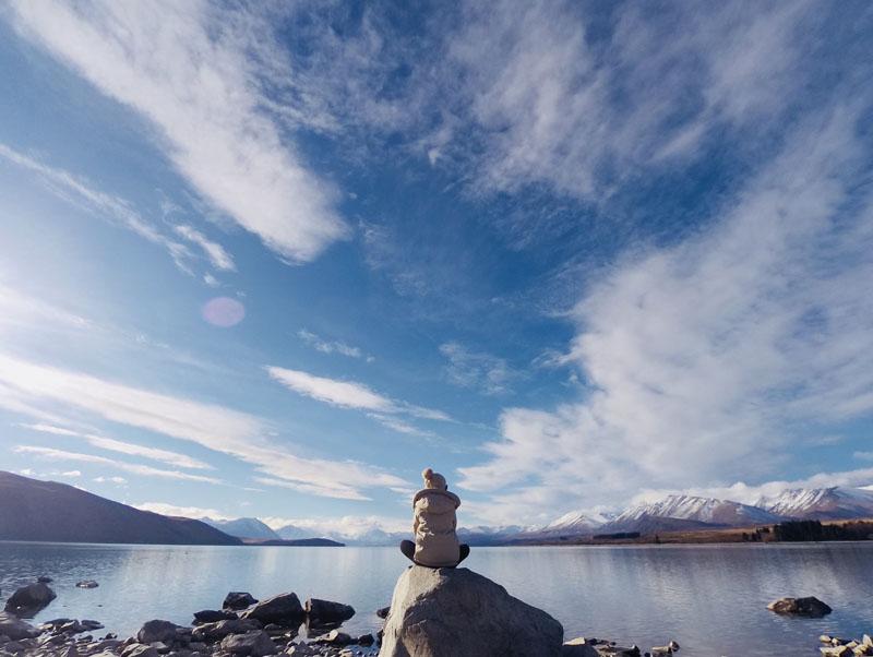 【紐西蘭NZ旅遊】南島蒂卡波湖Lake Tekapo,絕美賞星地點