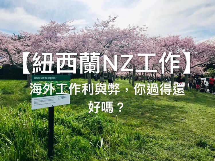 【紐西蘭NZ工作】海外工作利與弊,你過得還好嗎?