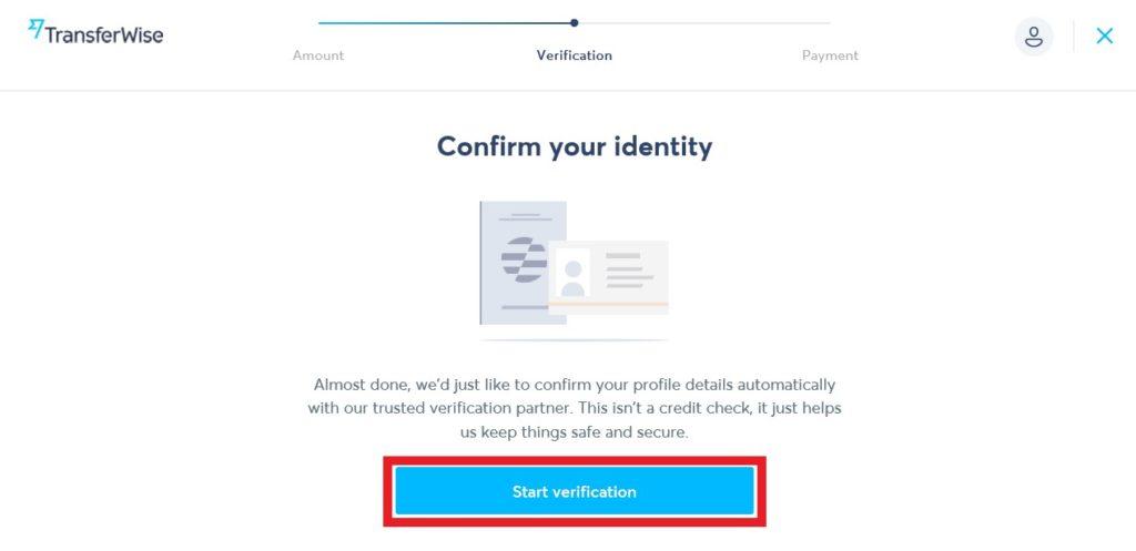 confirm identity