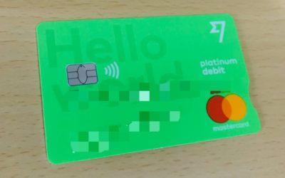 各國都通用的旅遊付款現金卡 Transferwise Debit Card